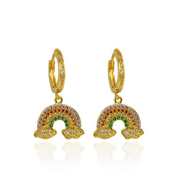 Iris Earrings - Gold