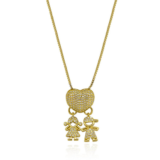 Melanie Necklace – Gold