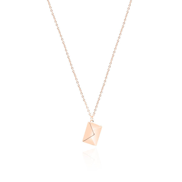 Mia Necklace – Rose Gold