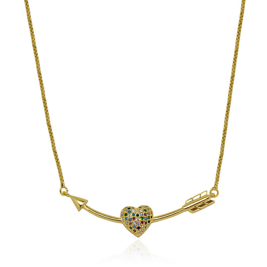 Valentina Necklace – Gold