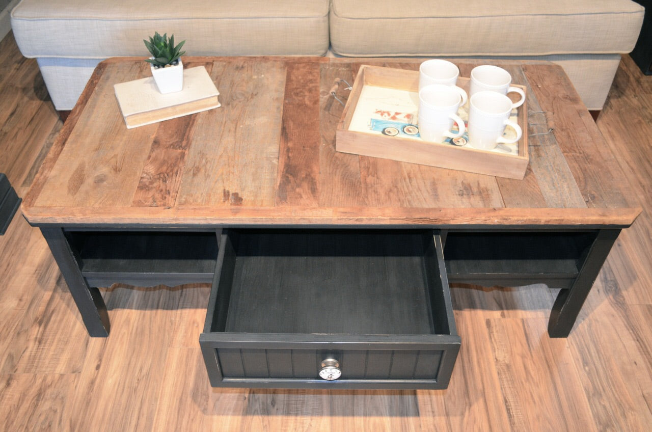 Farmhouse Rustic Coffee Table The Workshop