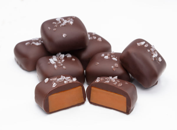 Chocolate Covered Sea Salt Caramel Pouch