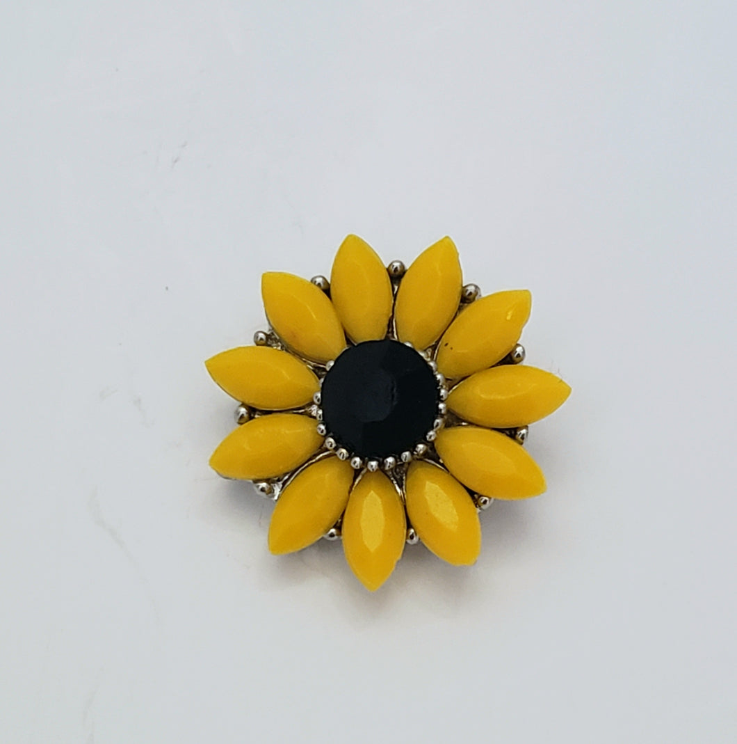 Sunflower Button Snaps