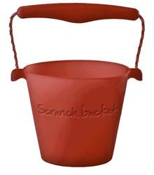 Foldable Bucket - Rust