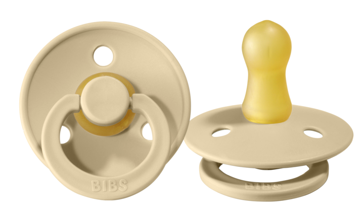 BIBS Pacifier - Beige - Twin Pack