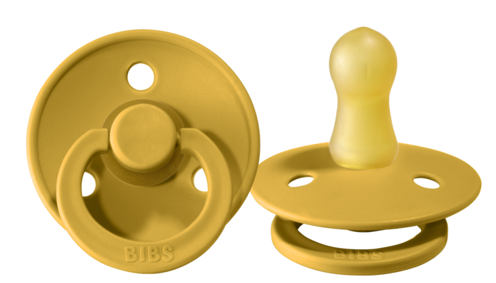 BIBS Pacifier - Mustard - Twin Pack