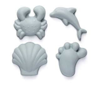 Scrunch Moulds - Duck Egg Blue (4 piece)