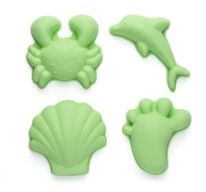 Scrunch Moulds - Green (4 piece)