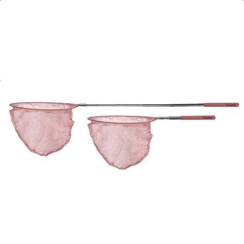Extendable Fishing Net - Rose Pink