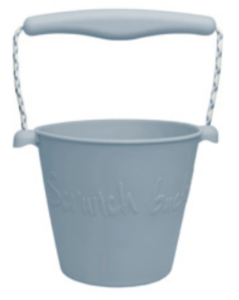 Foldable Bucket - Duck Egg Blue