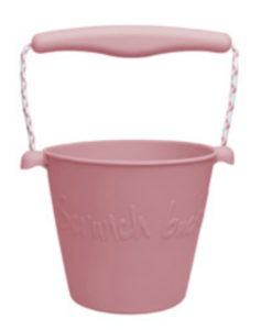 Foldable Bucket - Dusty Rose