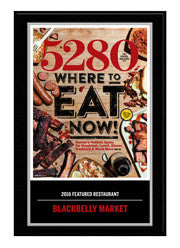 2016 Where to Eat Now Plaque