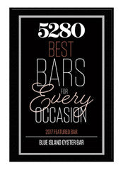 2017 Best Bars Plaque