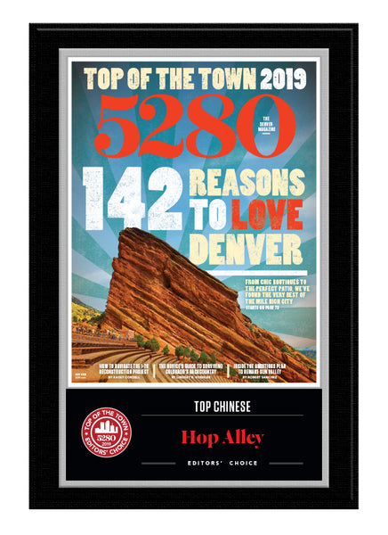 2019 Top of the Town Plaque -  Editors' Choice