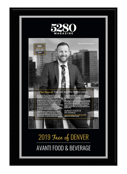 5280 Faces Plaque 2019