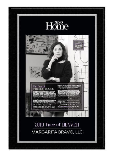 5280 Home 2019 Faces Plaque
