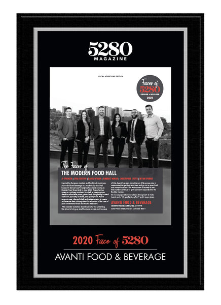 2020 Faces Plaque