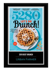 2019 Best Brunches Plaque