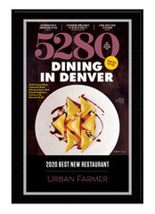 2020 Best New Restaurant Plaque