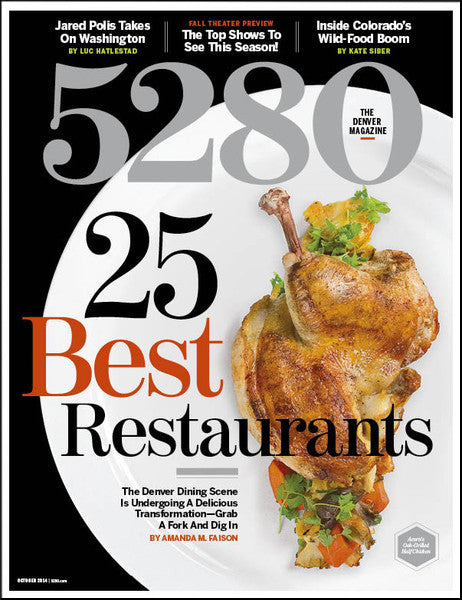 5280 October 2014 (Best Restaurants) Issue