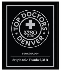 2020 Top Doctors Plaque