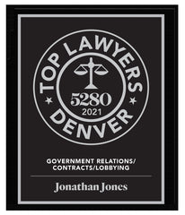 2021 Top Lawyers Plaque