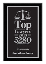 2015 Top Lawyers Plaque