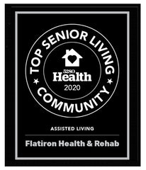 5280 Top Senior Living Communities Plaque 2020