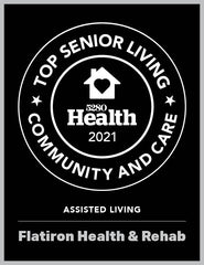 5280 Top Senior Living Communities Plaque 2021