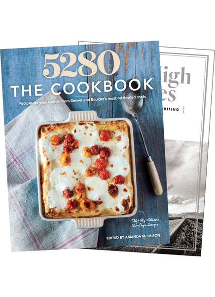 Mile High Stories + 5280 The Cookbook Combo