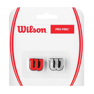 Wilson Pro Feel Dampeners (2 pack) RED & SILVER