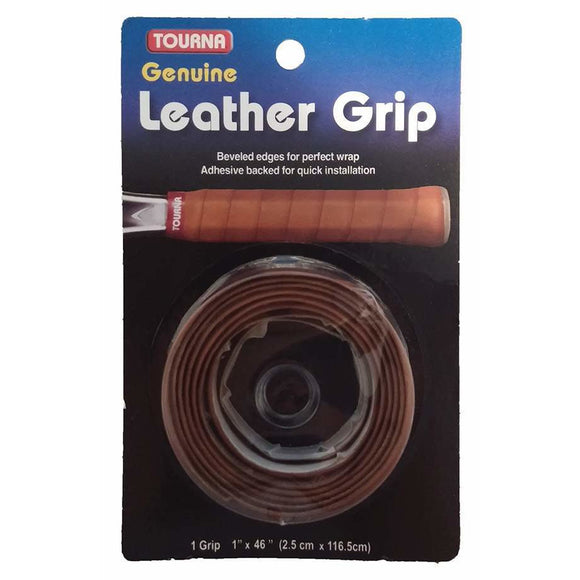 Tourna Leather Tennis Replacement Grip