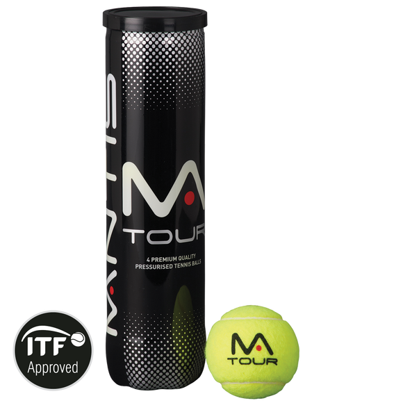 MANTIS Tour Tennis Balls (4 Can)