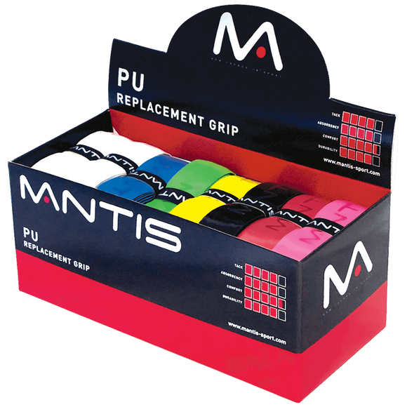 MANTIS PU Replacement Grips- Assorted 1.6mm (24x)