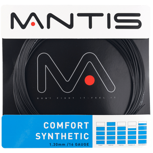 MANTIS Comfort Synthetic String Set- Black 1.30mm (12m)