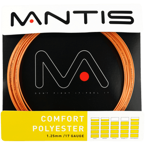 MANTIS Comfort Polyester String Set- Orange (12m)