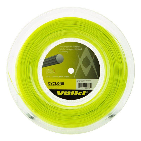Volkl Cyclone Tennis String Reel - YELLOW