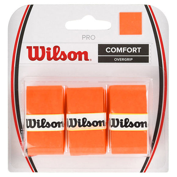 Wilson Pro Over Grip Orange (3 pack)