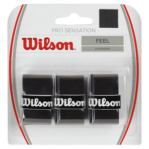 Wilson Sensation Pro Over Grip Black (3 pack)