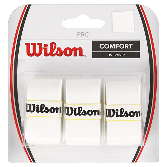 Wilson Pro Over Grip White (3 pack)
