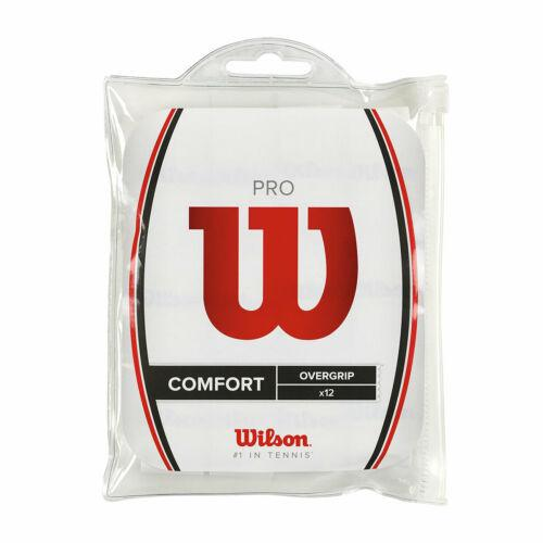 Wilson Pro Over Grip White (12 pack)