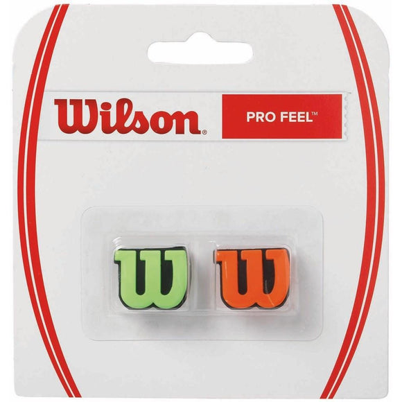 Wilson Pro Feel Dampeners (2 pack) - Green/Orange