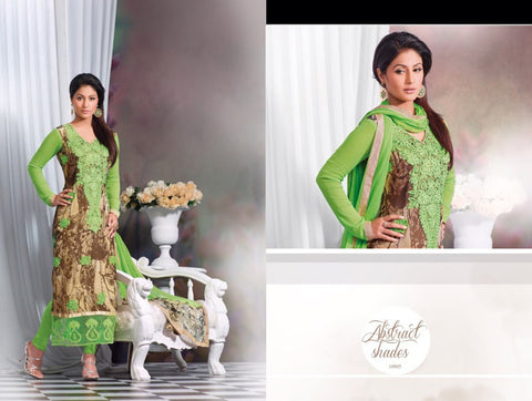 Zubeda chiffon digital suit 10905 - Pakeeza-Boutique