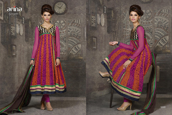Arina Georgette suit 5009 - Pakeeza-Boutique