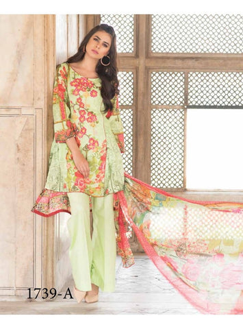 Bin Ilyas Luxury Lawn Vol3 D#1739A