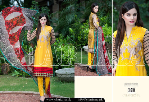 Charizma range vol-3 suit CR610 - Pakeeza-Boutique