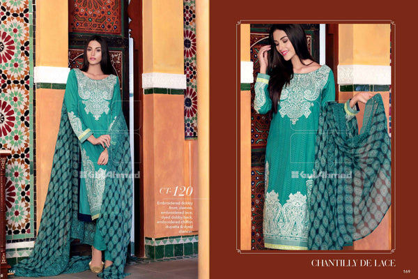 Gul Ahmed Eid 2015 suit CT-120 - Pakeeza-Boutique