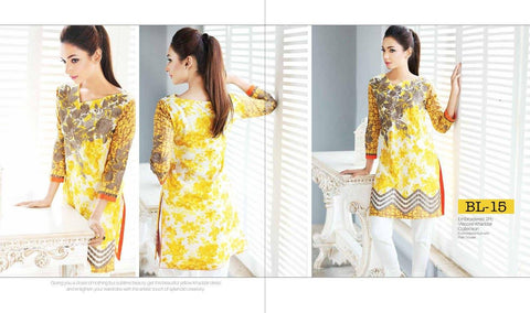 Charizma Belle Vol-2 2016 suit BL-15