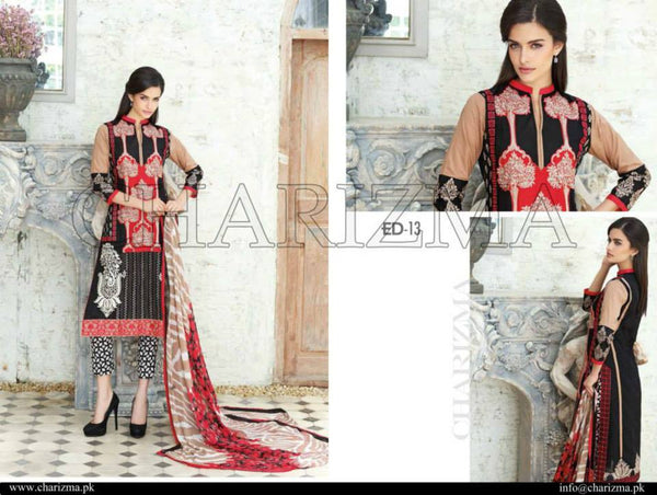 Charizma Eid Collection suit ED-13 -   - 1