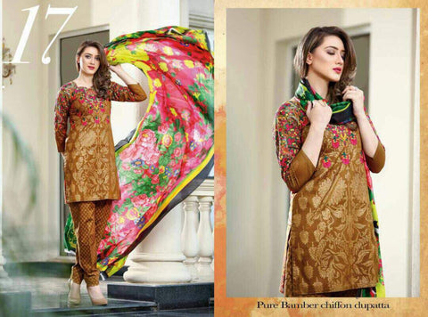 EshAisha Eid Collection 2017 suit D#17
